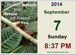 Save Nature Date Time Calendar App