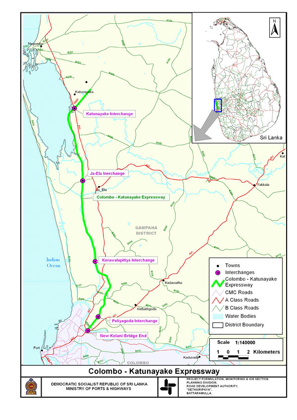 Sri Lanka's E01 Southern Expressway -E01 Highway- SriLankaView