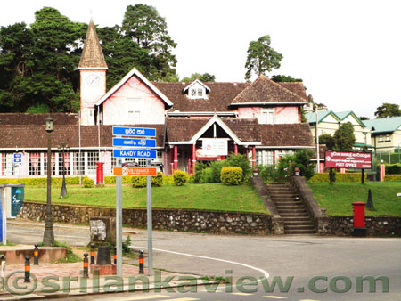 Nuwara Eliya City scenery