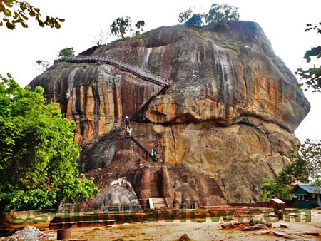 Sigiriya Rock view