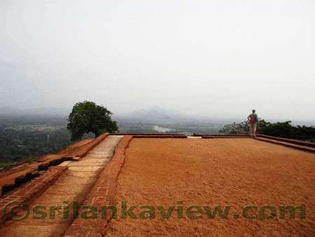 Sigiriya Summit and landscape