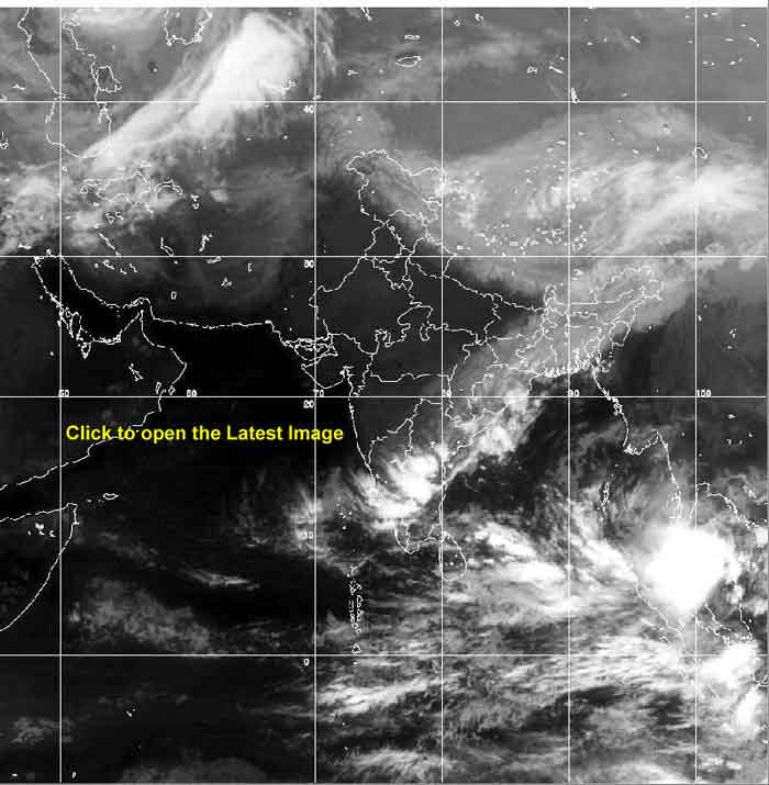 Satellite Weather In Sri Lanka Today SriLankaView - Most current satellite maps